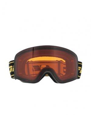 Солнечные очки FENDI. Цвет: оранжевый