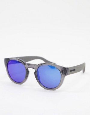 Круглые солнцезащитные очки Trancoso-Голубой Havaianas
