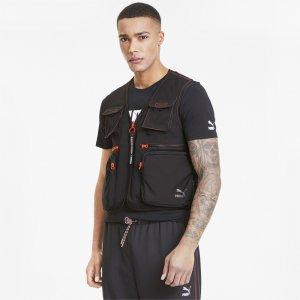 Жилет TFS Industrial Woven Vest PUMA. Цвет: черный