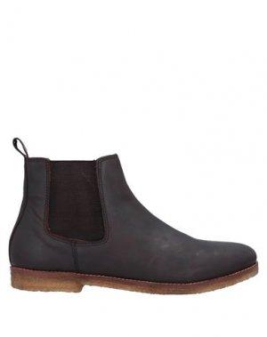Полусапоги и высокие ботинки FRANK WRIGHT. Цвет: темно-коричневый