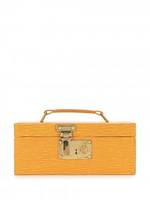 Шкатулка для украшений Epi pre-owned Louis Vuitton. Цвет: желтый