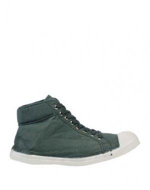 Высокие кеды и кроссовки BENSIMON. Цвет: зеленый
