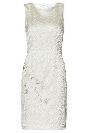Платье Gina Bacconi. Цвет: бежевый