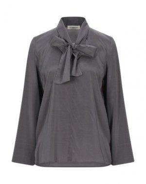 Блузка LA FABRIQUE. Цвет: серый