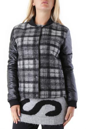 Куртка 525. Цвет: gray, black