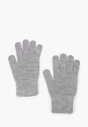 Перчатки Ferz. Цвет: серый