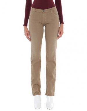 Джинсовые брюки COAST WEBER & AHAUS. Цвет: зеленый-милитари