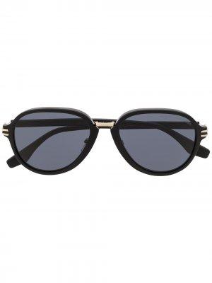 Солнцезащитные очки-авиаторы Marc Jacobs. Цвет: черный
