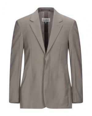 Пиджак MAISON MARGIELA. Цвет: хаки