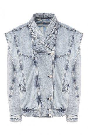 Джинсовая куртка Isabel Marant. Цвет: голубой