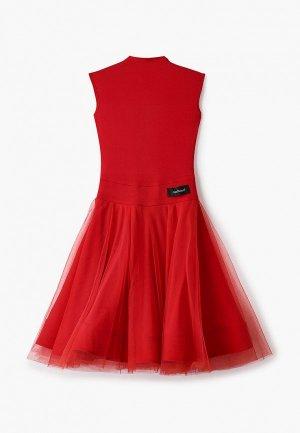 Платье AltraNatura. Цвет: красный