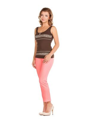 Капри Femme. Цвет: розовый