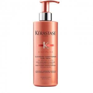 Очищающий кондиционер для вьющихся волос Discipline Kerastase. Цвет: бесцветный