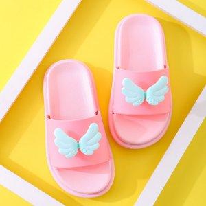 Декор для девочек с крылышками SHEIN. Цвет: розовые