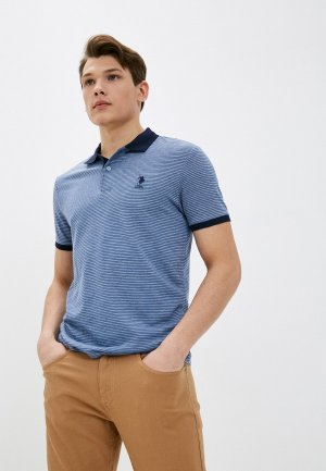 Поло U.S. Polo Assn.. Цвет: синий