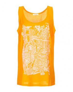 Майка CARVEN. Цвет: оранжевый
