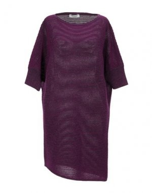 Короткое платье ANGELO MARANI. Цвет: розовато-лиловый