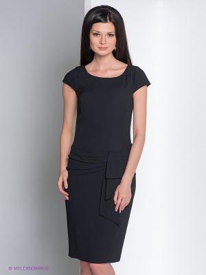 Платье Elegance. Цвет: черный