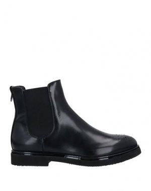 Полусапоги и высокие ботинки AGL. Цвет: черный