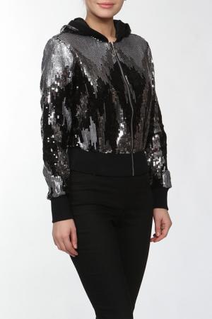 Куртка LAFEI-NIER. Цвет: серебряный