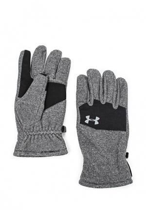 Перчатки Under Armour UA Survivor Fleece Glove. Цвет: серый