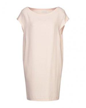 Короткое платье GOTHA. Цвет: розовый