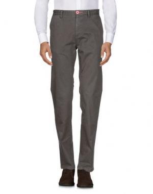 Повседневные брюки FRED MELLO. Цвет: зеленый-милитари
