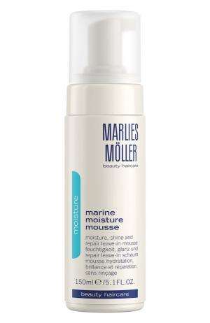 Увлажняющая пенка-мусс для волос Marlies Moller. Цвет: бесцветный