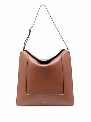 Большая сумка-тоут Penelope Wandler. Цвет: коричневый