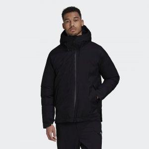 Утепленная куртка RAIN.RDY Performance adidas. Цвет: черный