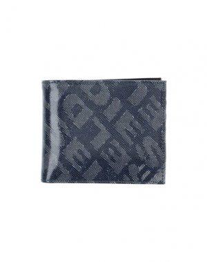 Бумажник DIESEL. Цвет: темно-синий