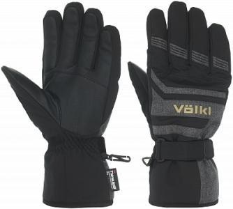 Перчатки мужские , размер 10 Volkl. Цвет: черный