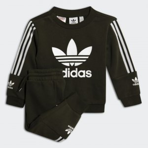 Костюм Lockup Originals adidas. Цвет: белый