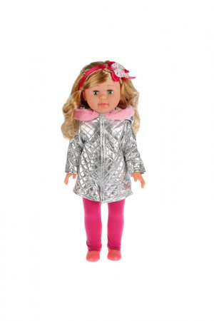 Кукла Олеся Карапуз. Цвет: серебряный