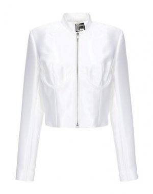 Куртка MISBHV. Цвет: белый