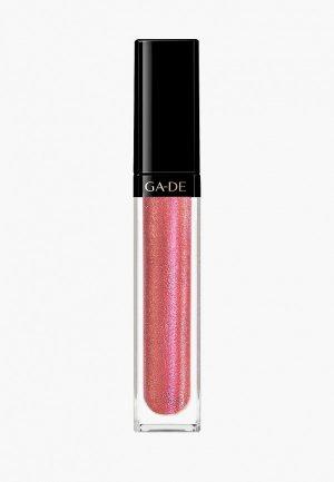 Блеск для губ Ga-De CRYSTAL LIGHTS No.805. Цвет: розовый