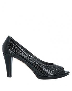 Туфли CORSI. Цвет: черный