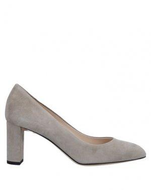 Туфли DEIMILLE. Цвет: светло-серый