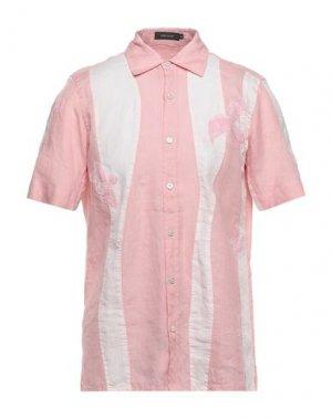 Pубашка CORTIGIANI. Цвет: розовый