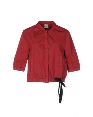 Куртка ...À_LA_FOIS.... Цвет: кирпично-красный