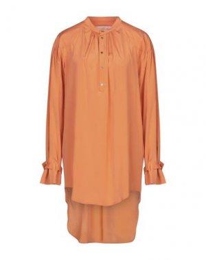 Короткое платье A.F.VANDEVORST. Цвет: оранжевый