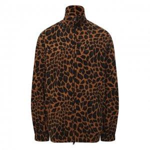 Куртка Balenciaga. Цвет: леопардовый