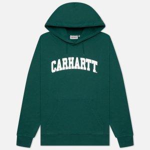 Мужская толстовка University Hooded 9.4 Oz Carhartt WIP. Цвет: зелёный