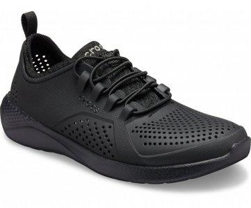 Кроссовки детские CROCS Kids' LiteRide™ Pacer Black/Black арт. 206011. Цвет: black/black