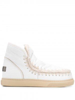 Ботинки Snow Mou. Цвет: белый