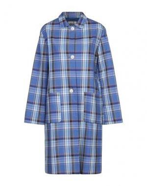 Легкое пальто NIŪ. Цвет: синий