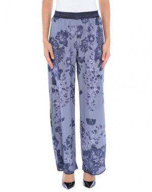 Повседневные брюки MILA ZB. Цвет: грифельно-синий