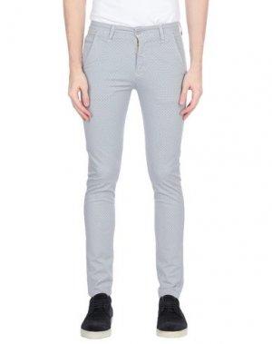 Повседневные брюки EXCLUSIVE. Цвет: светло-серый