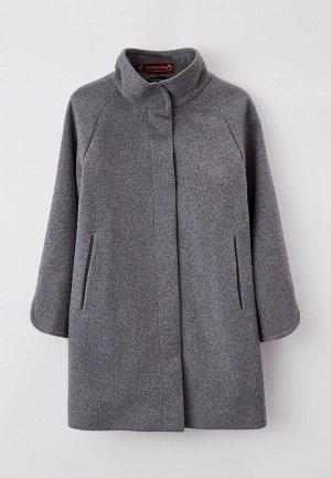 Пальто Mamma Mila!. Цвет: серый