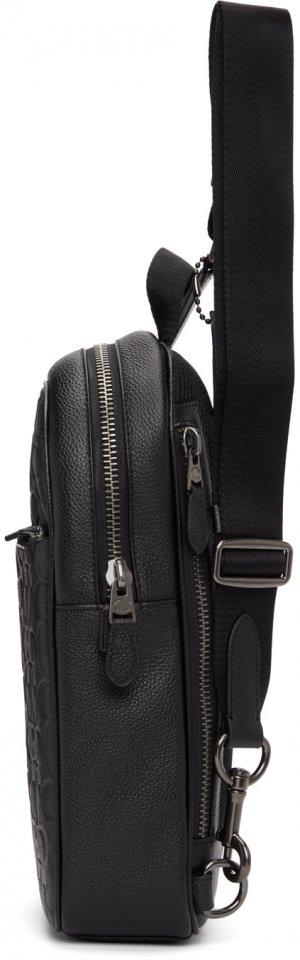 Black Soft Pack Metropolitan Backpack Coach 1941. Цвет: black